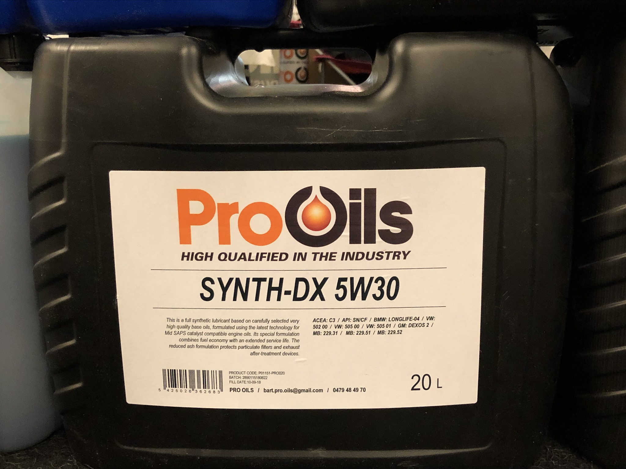Synth-DX 5W30