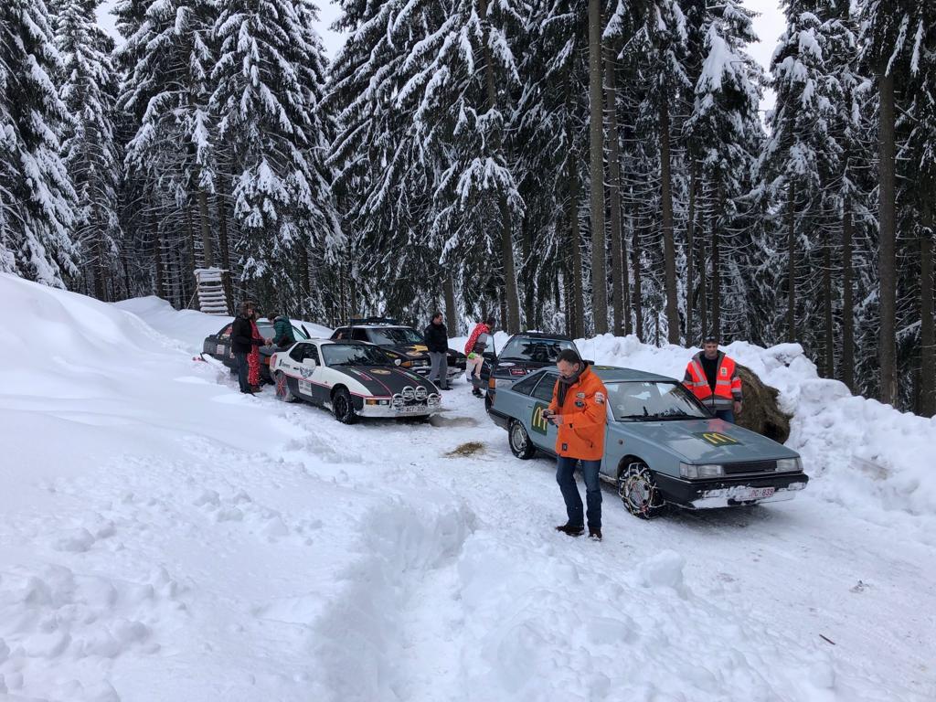 Salvage rally 2019 sneeuw