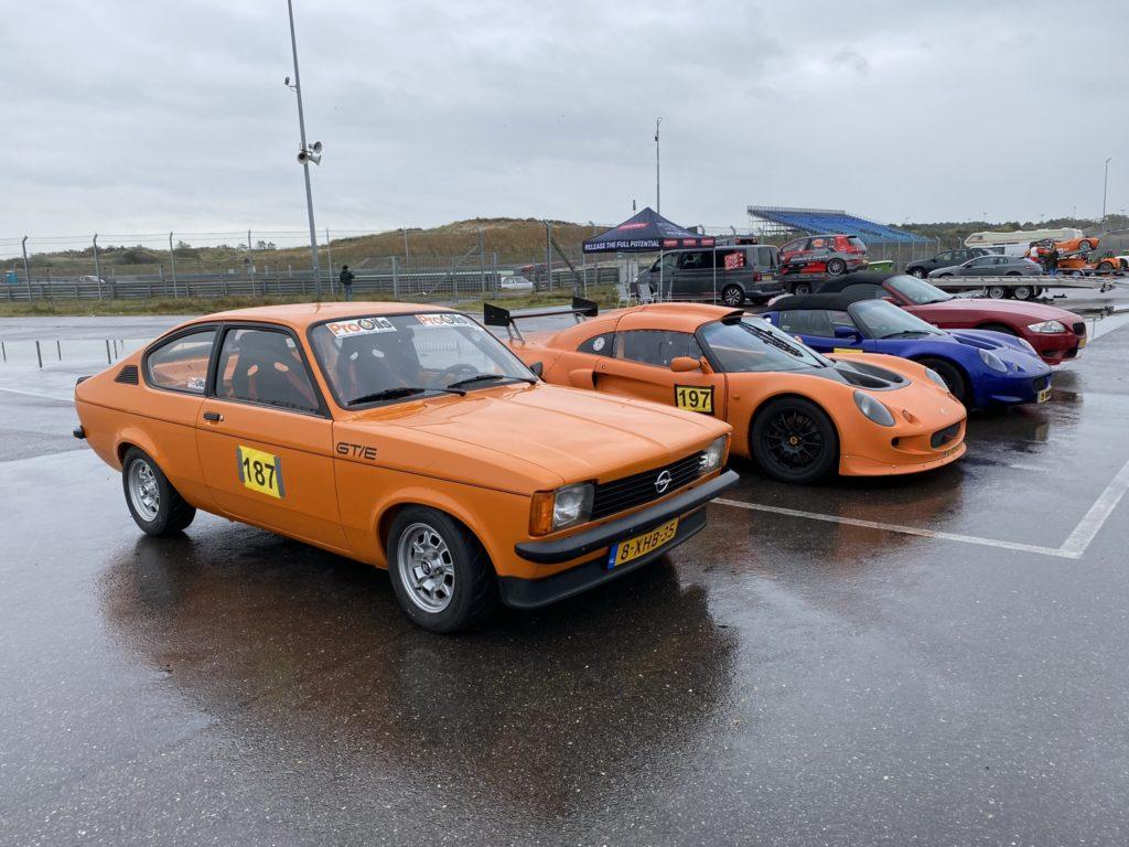 Opel GT/E + Lotus en BMW